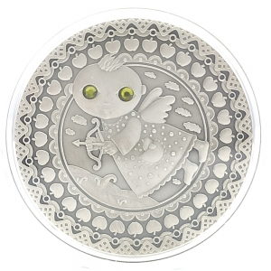 "Stříbrná mince Zodiac Series ""Sagittarius"". Střelec"