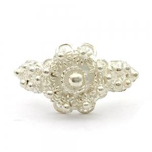 Stříbrný prsten filigrán
