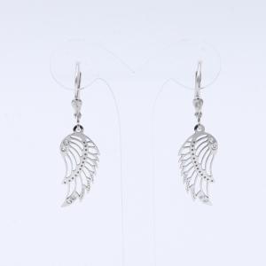 Stříbrné náušnice křídla